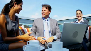 stock-footage-financial-outdoor-meeting-of-diverse-female-and-male-business-colleagues-ending-handshake-and