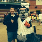 NexGoal intern Nate Myeroff should be thankful: some of us were the mascot as interns...