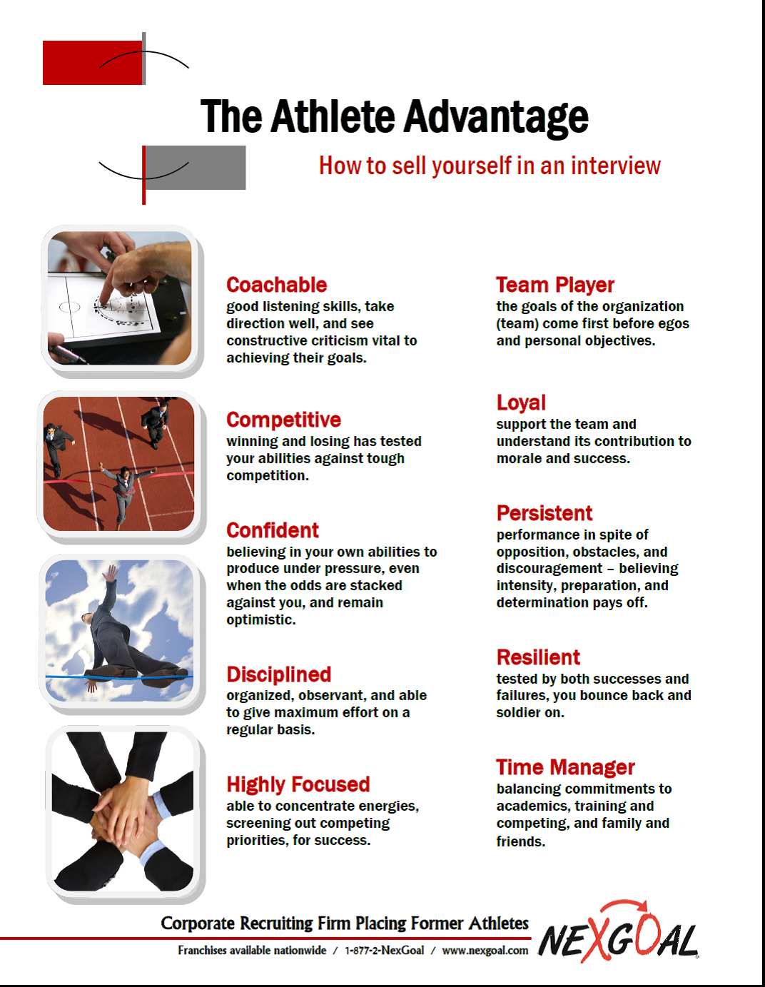 The Athlete Advantage