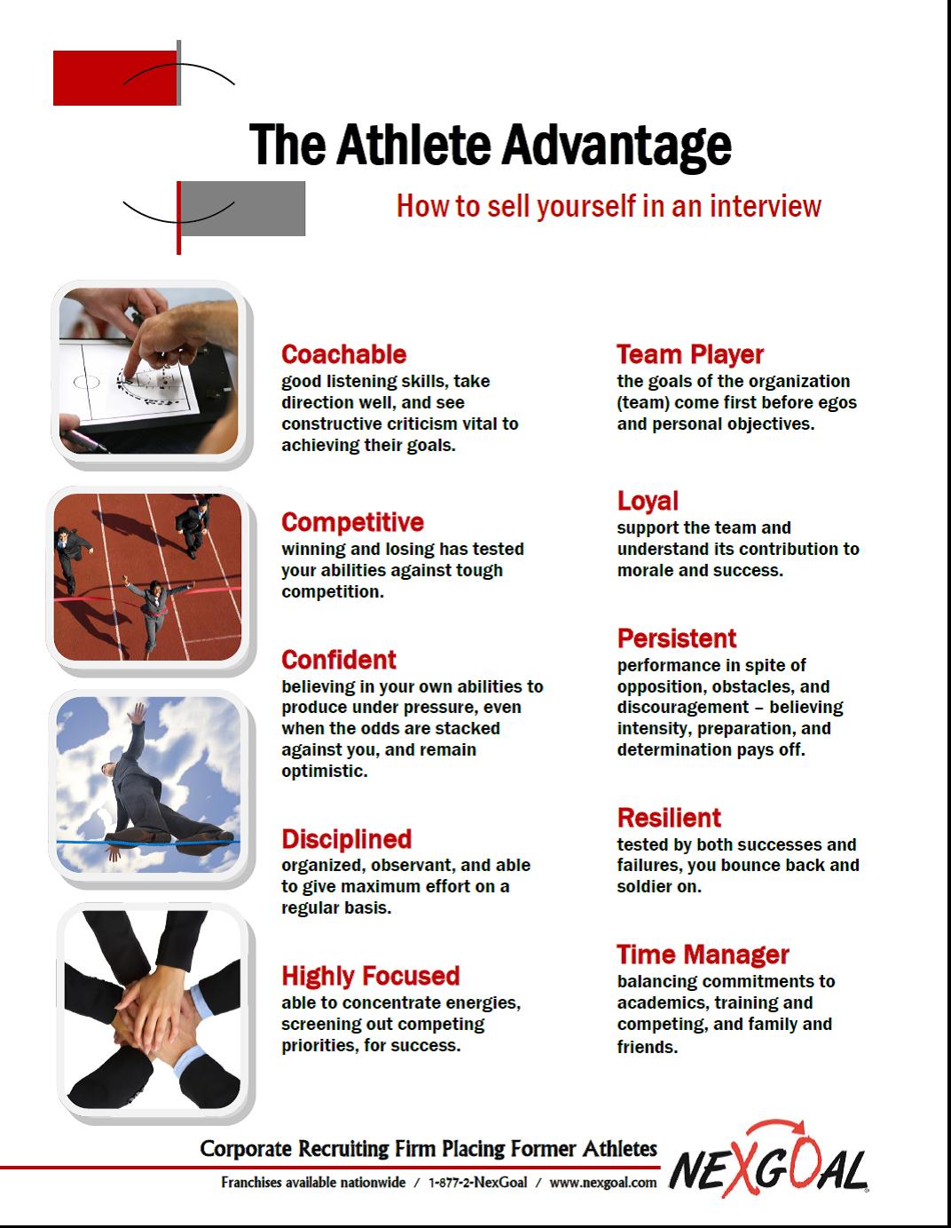 The Athlete Advantage
